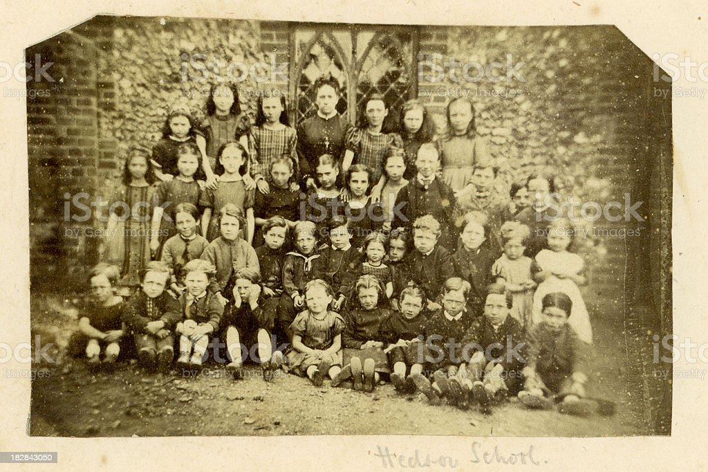 Hedsor School Photograph royalty-free stock photo