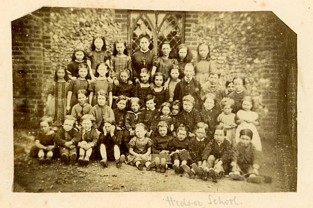 Hedsor School Photograph stock photo