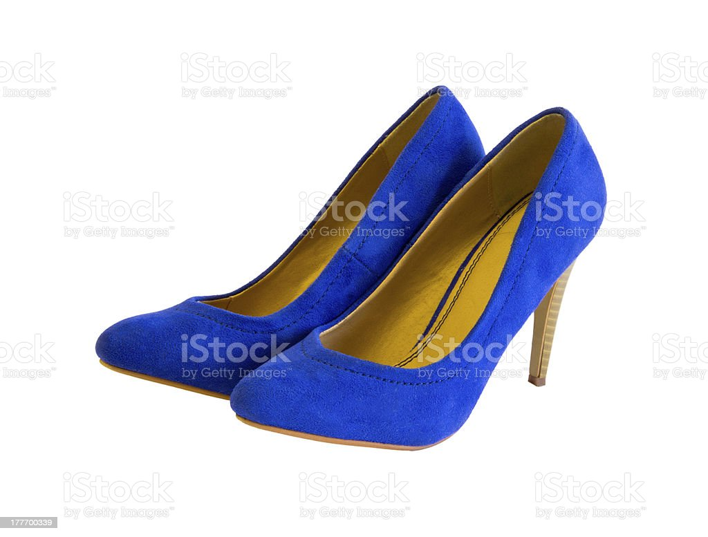 heel shoes royalty-free stock photo