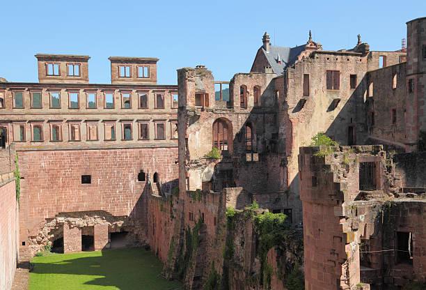 Heidelberger Schloß Fassade – Foto