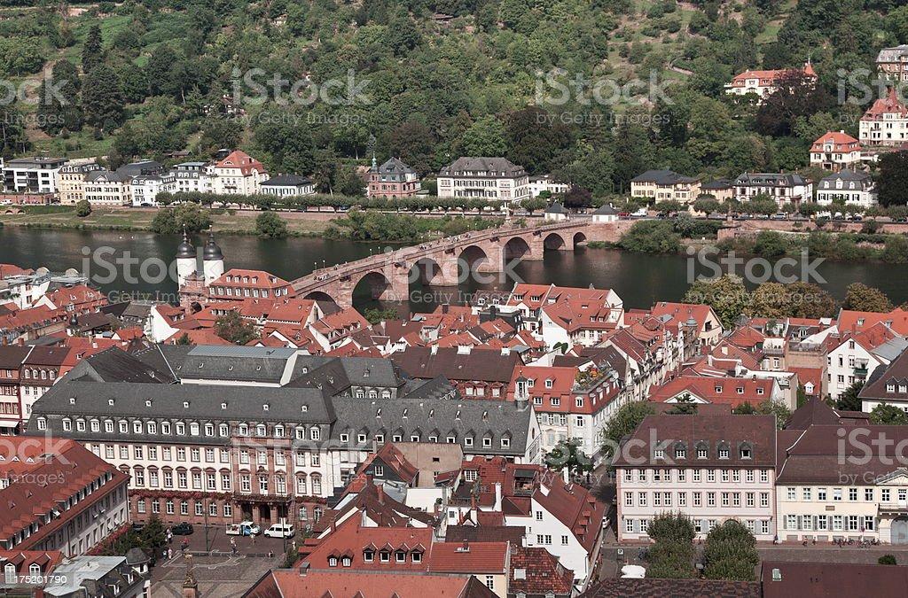 Heidelberg, Germany royalty-free stock photo