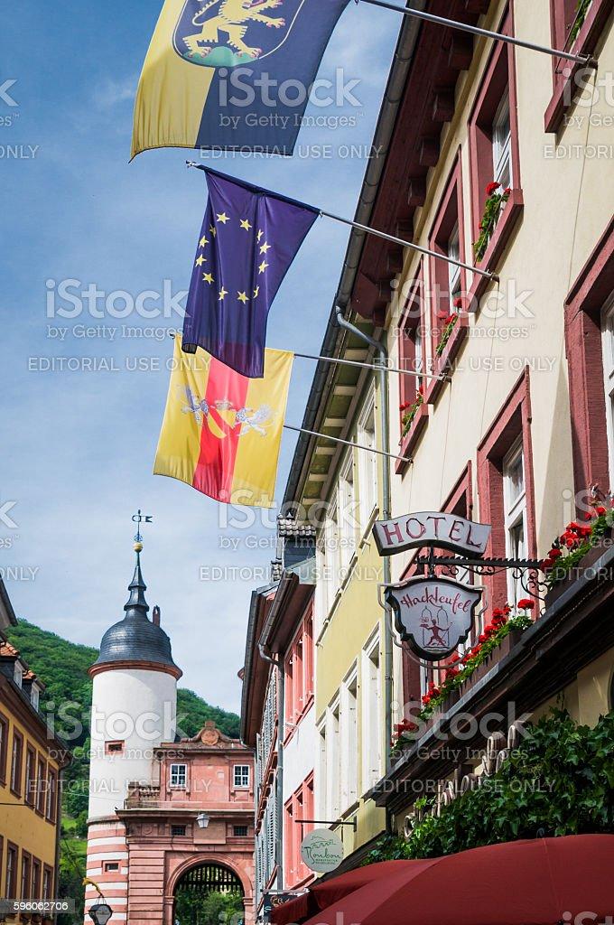 Heidelberg Hotel royalty-free stock photo