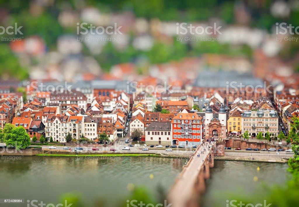 Heidelberg old town, Germany stock photo
