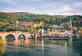 istock Heidelberg with the Alte Brucke in autumn 174942222