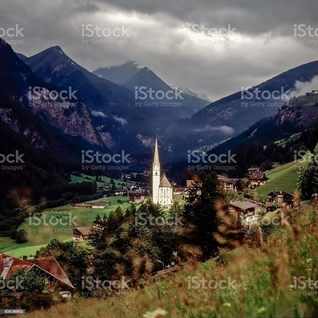 Heiligenblut, Austria stock photo