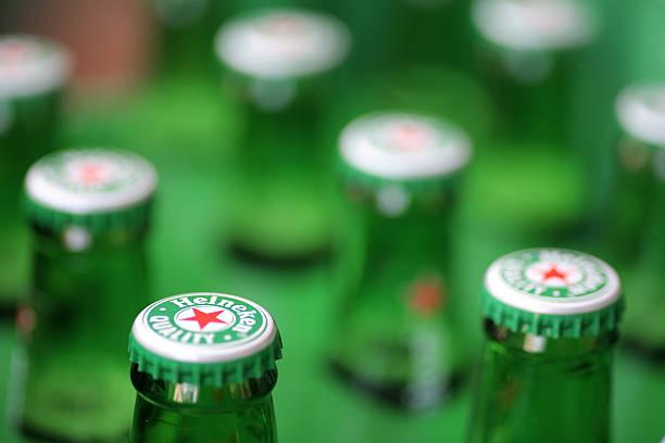 Heineken beer stock photo