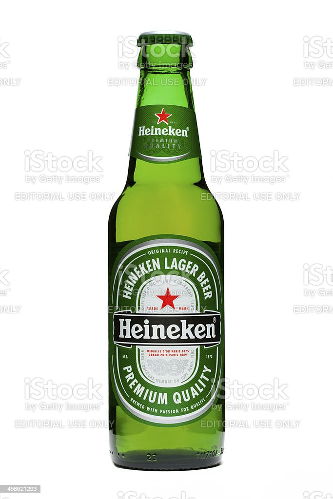 Heineken Beer stock photo