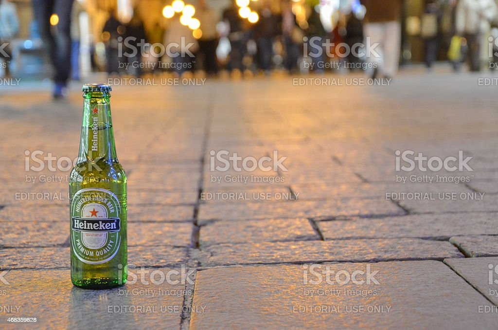 Heineken royalty-free stock photo