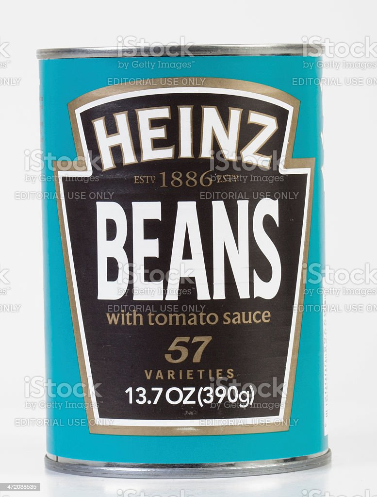 Heinz Beans stock photo