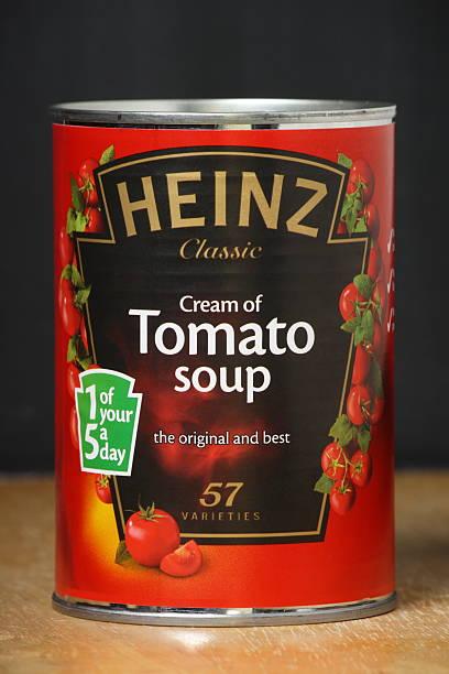 heinz cream of tomato soup - heinz stock photos and pictures