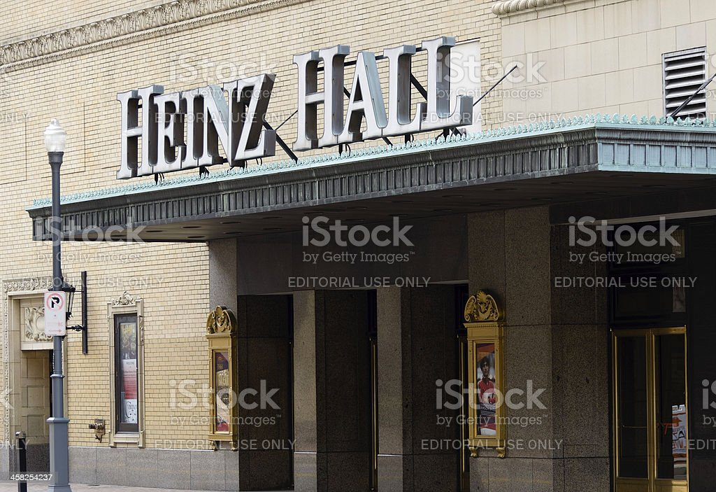 Heinz Hall for the Performing Arts stock photo