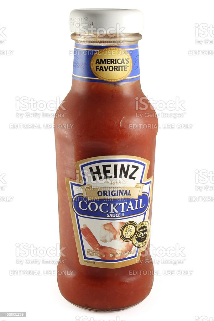 Heinz Original Cocktail Sauce royalty-free stock photo