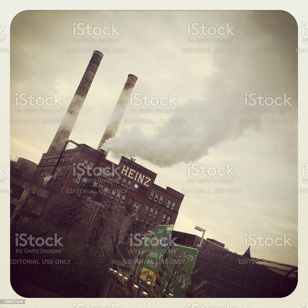 H. J. Heinz Plant stock photo