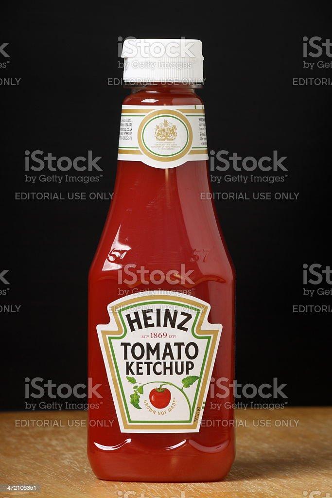 Heinz Tomato Ketchup royalty-free stock photo