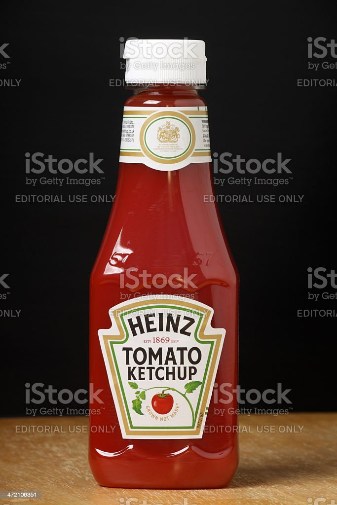 Heinz Tomato Ketchup stock photo