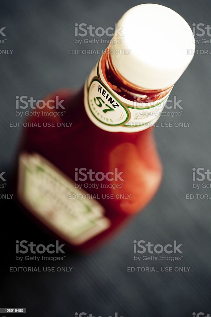 Heinz's Ketchup stock photo