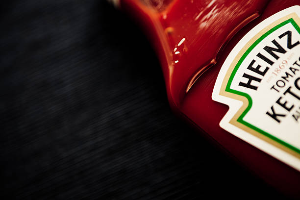 heinz's ketchup - heinz stock photos and pictures