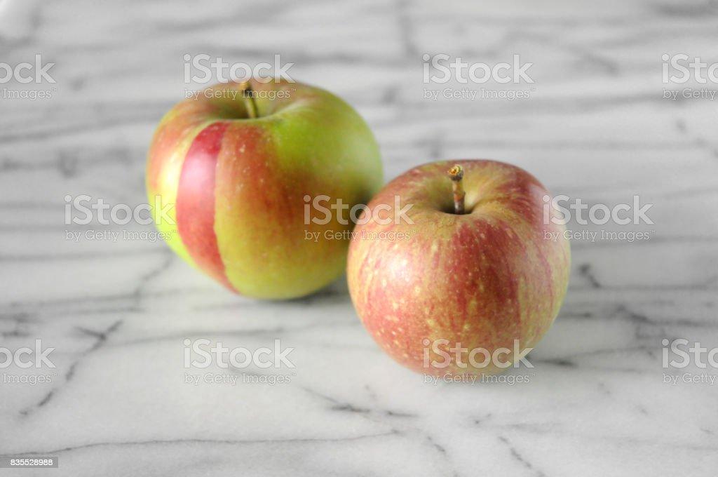 Heirloom Apples stock photo
