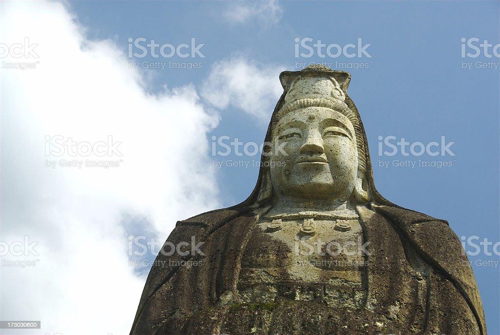 Heiwa Kannon of Ohya-machi, Utsunomiya stock photo