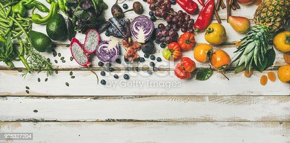 istock Helathy raw vegan food cooking background 925327204
