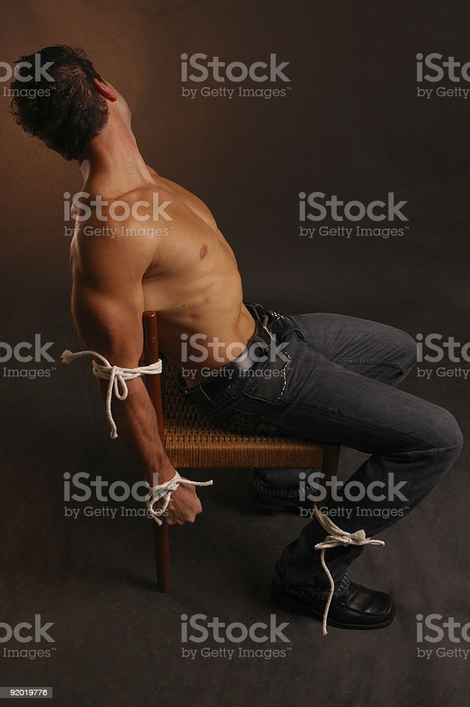held captive stock photo