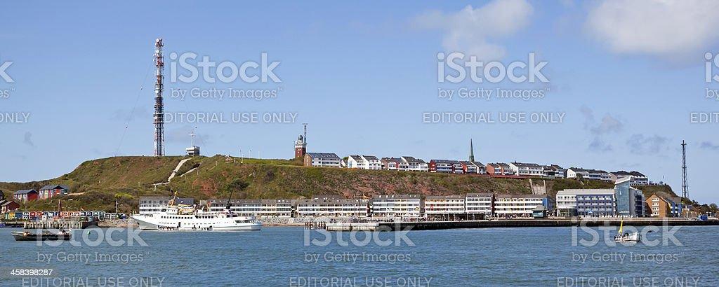 Helgoland Island Germany stock photo