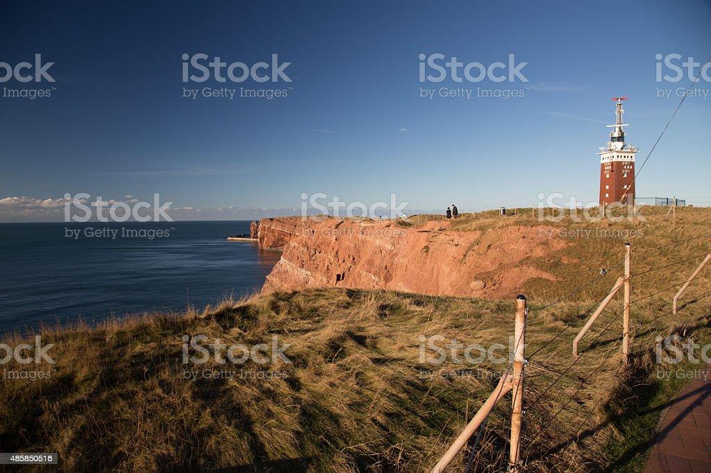 Helgoland landscape stock photo