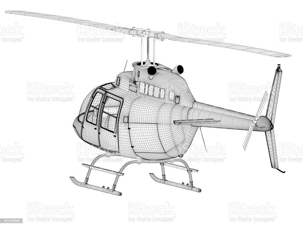 Elicottero 355 : Elicottero vista posteriore del modello d foto di stock istock