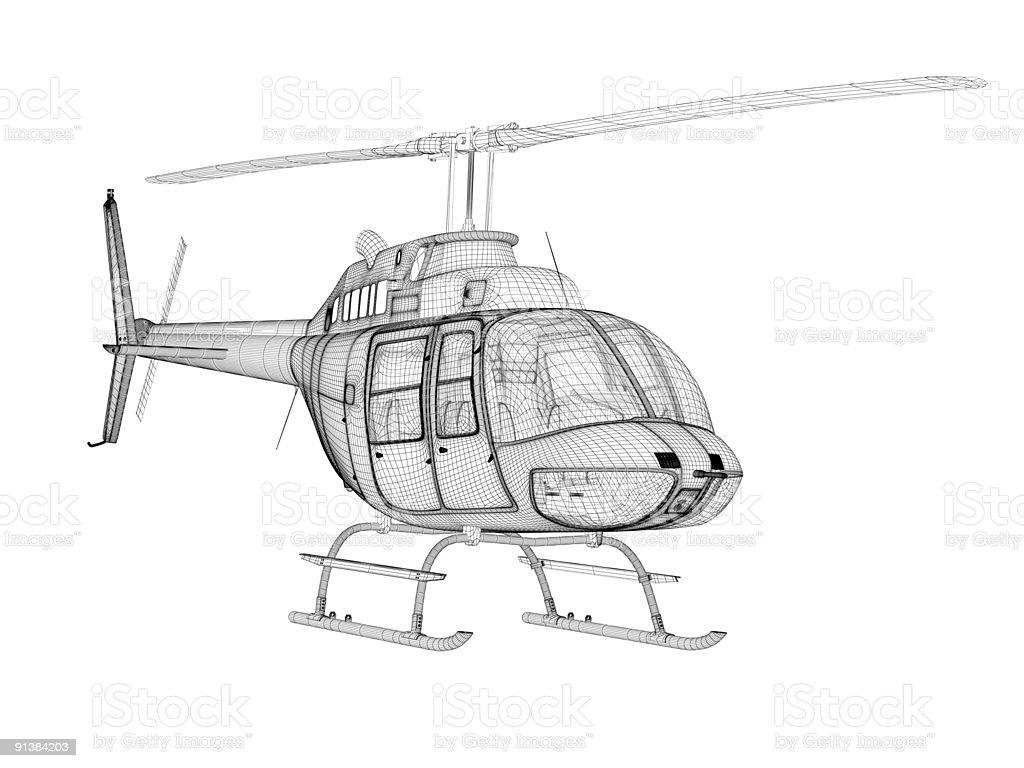 Fotografía de Helicóptero De Modelos Tridimensionales Vista De ...