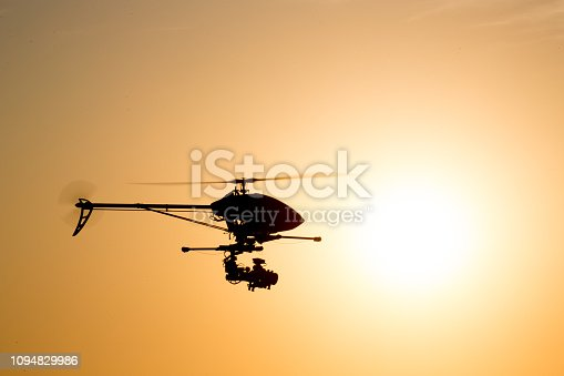 Camera drones have forever changed the film industry and created many employment opportunities. Larger sized remotely controlled helicopters are capable of carrying heavy camera equipment. It requires a highly skilled pilot to control.
