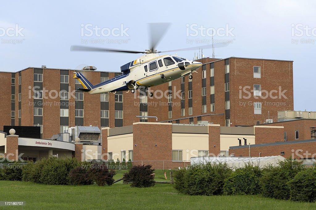 Heliponto no Hospital - foto de acervo