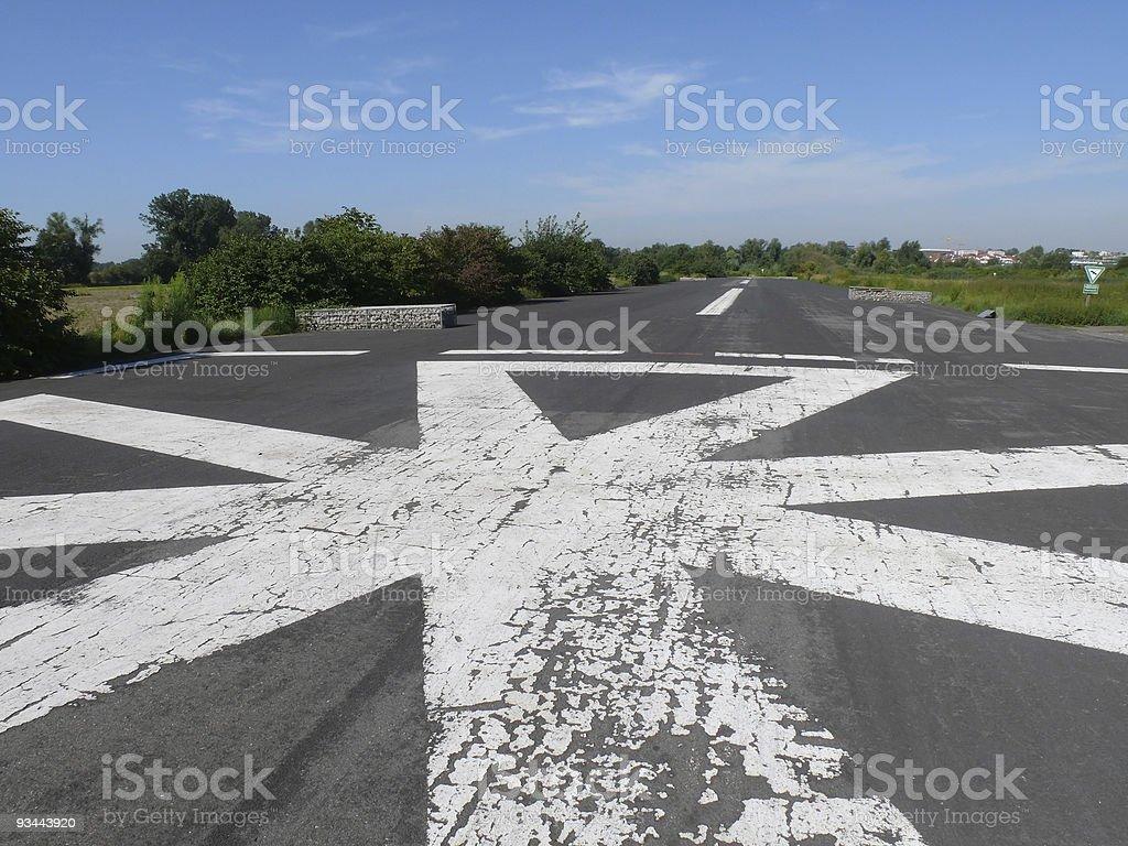 Hubschrauberlandeplatz Ort Lizenzfreies stock-foto