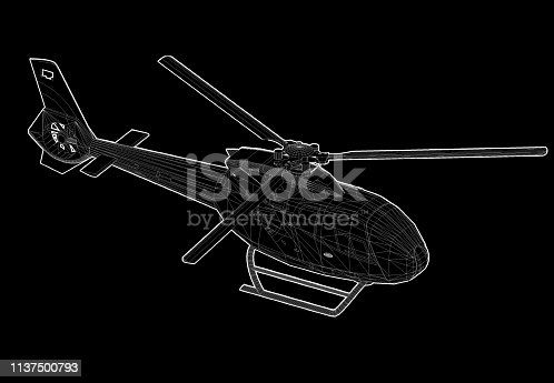 istock Helicopter 1137500793