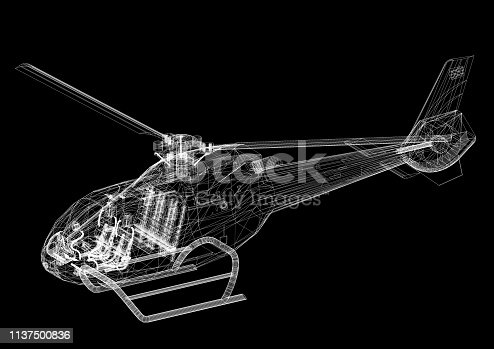istock Helicopter 1137500836