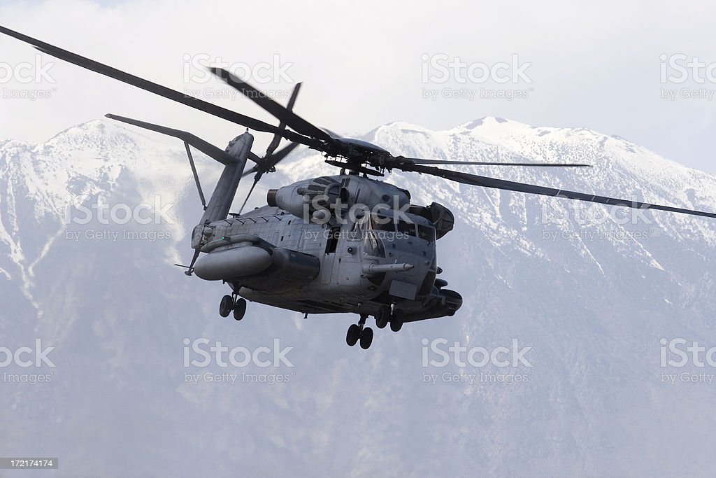 CH53 Helicopter stock photo