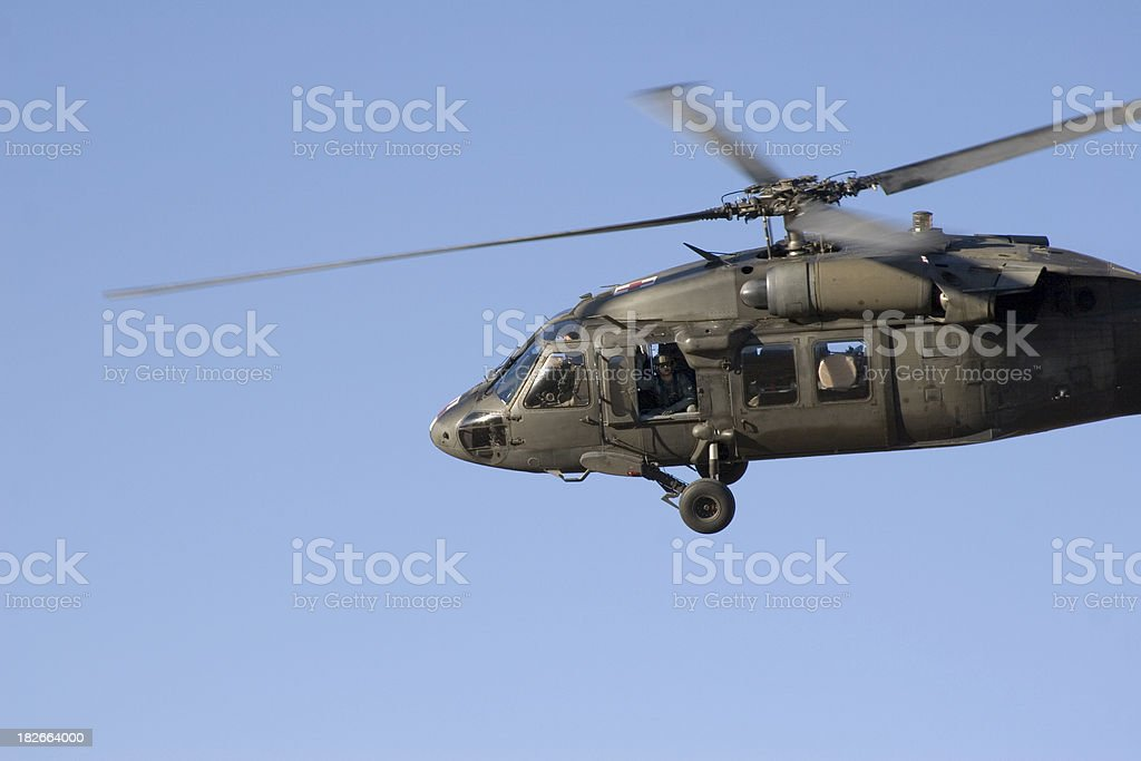 H-60 Helicopter royalty-free stock photo