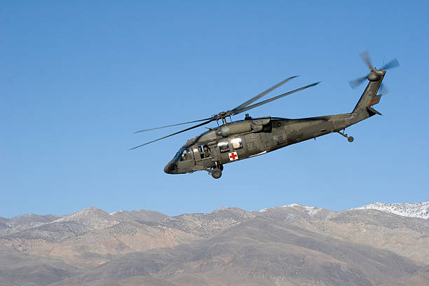 H-60 Helicopter stock photo