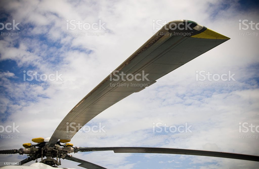 Helicopter Rotors royalty-free stock photo