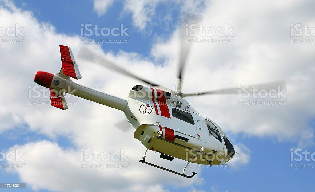 Helicopter Take Off royalty-free stock photo