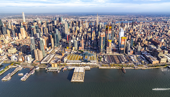 Aerial view of Midtown Manhattan. New York
