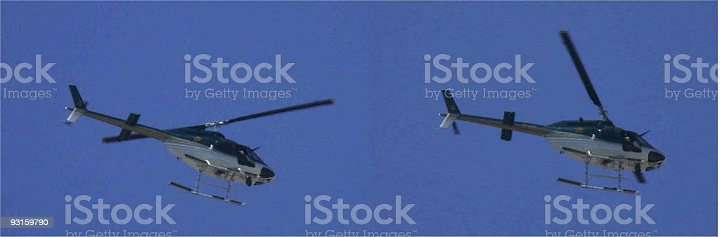 Helicoptor royalty-free stock photo
