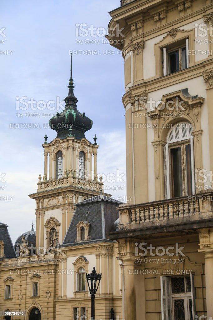 Helikon castle museum Keszthely stock photo