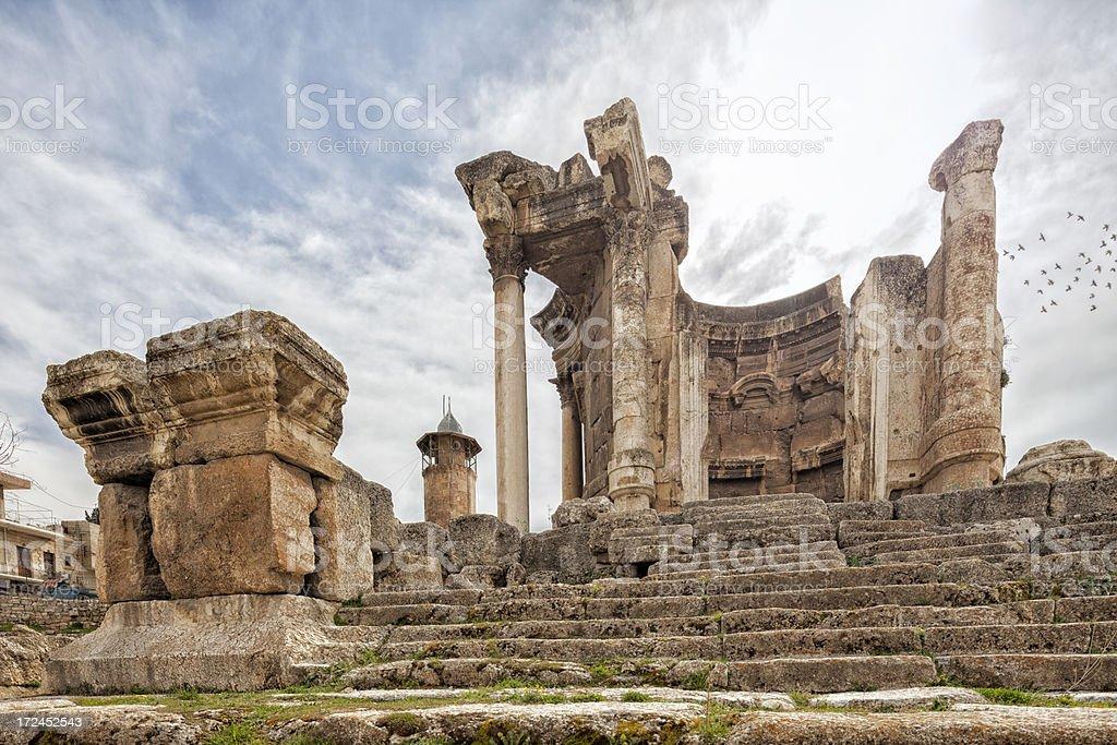 Heliopolis, Baalbek, Bekaa Valley, Lebanon stock photo