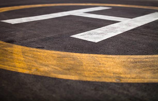 Hubschrauber-Landeplatz – Foto