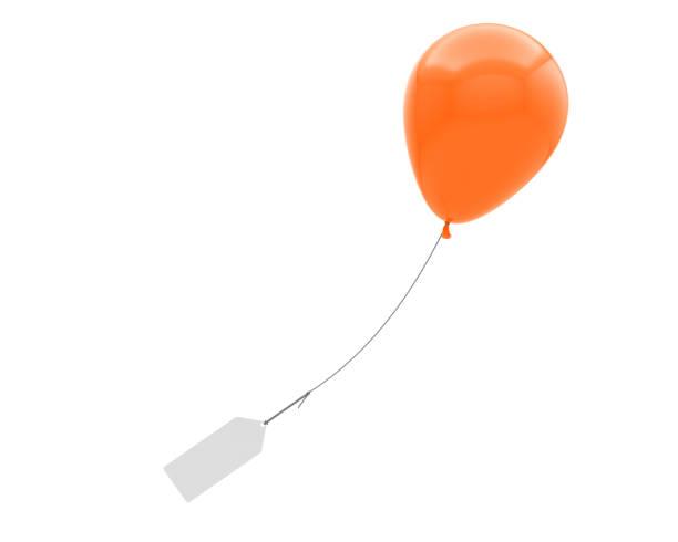 helium-ballon-nachricht - partylabels stock-fotos und bilder