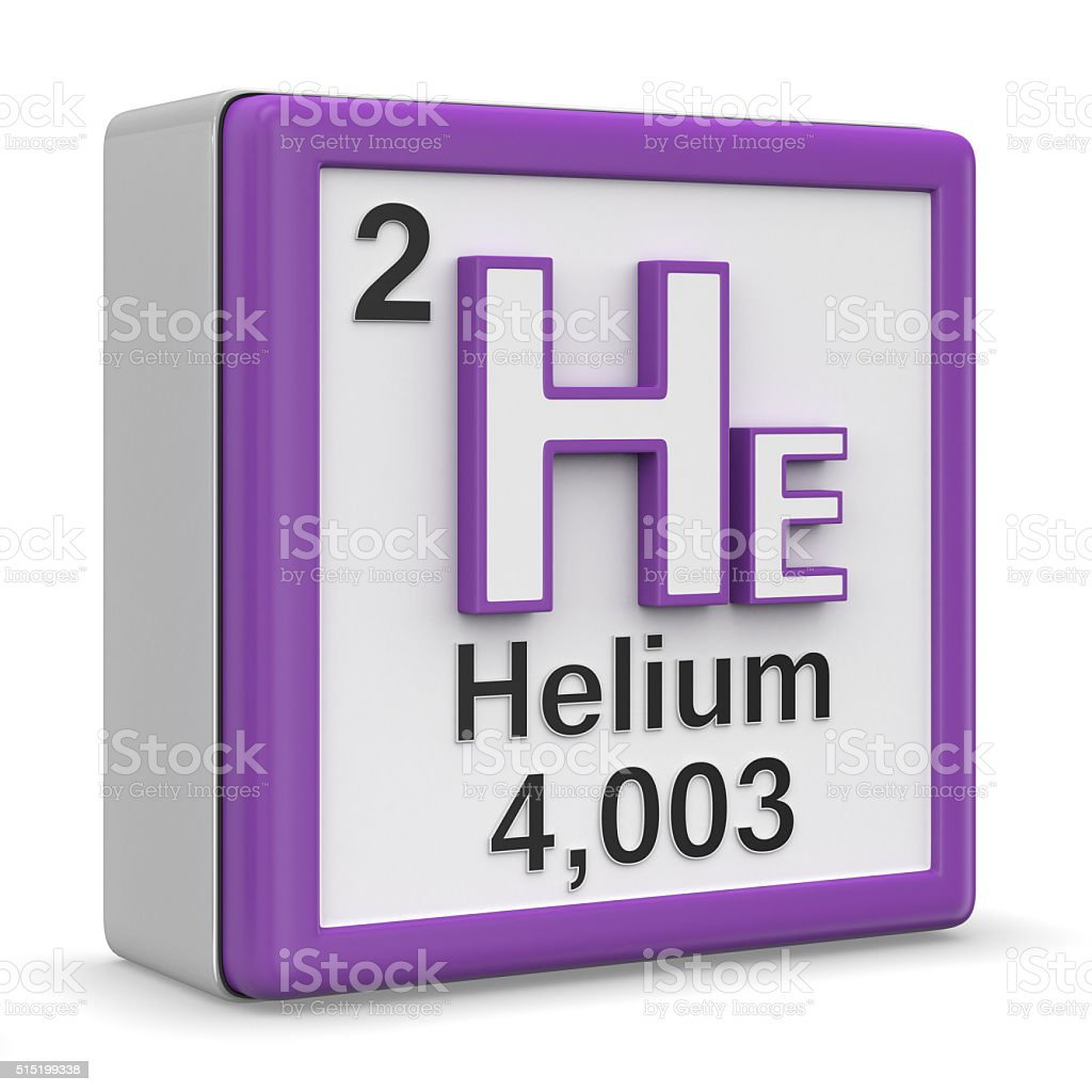 paper on helium element The chemical element helium is classed as a noble gas and in 1895 he read a paper by william hillebrand describing an unreactive gas that was released when.