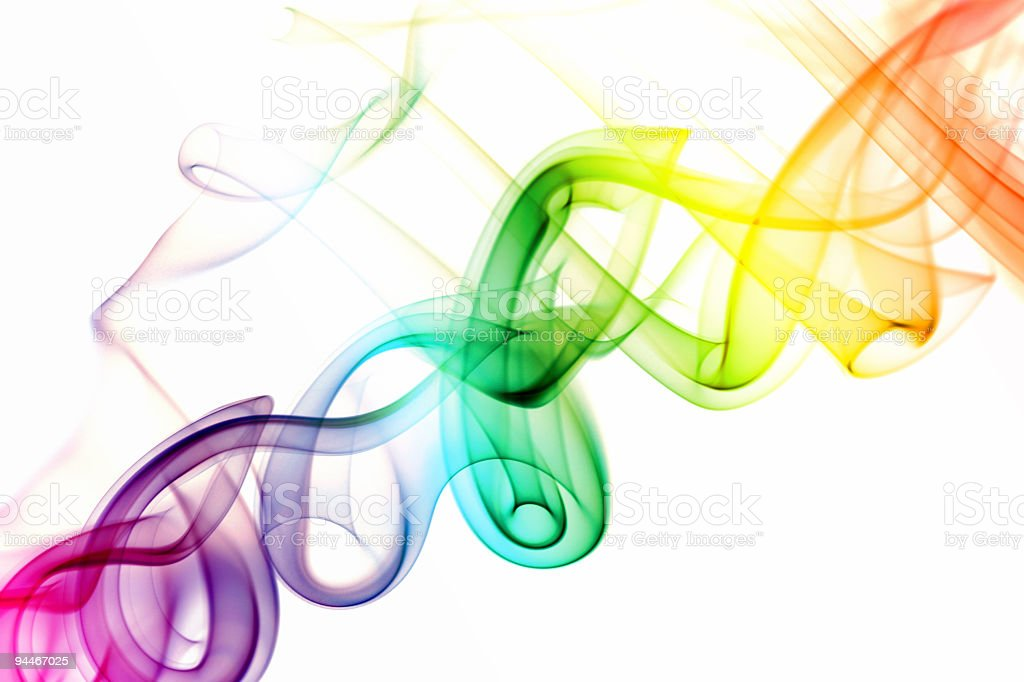 helix colored royalty-free stock photo