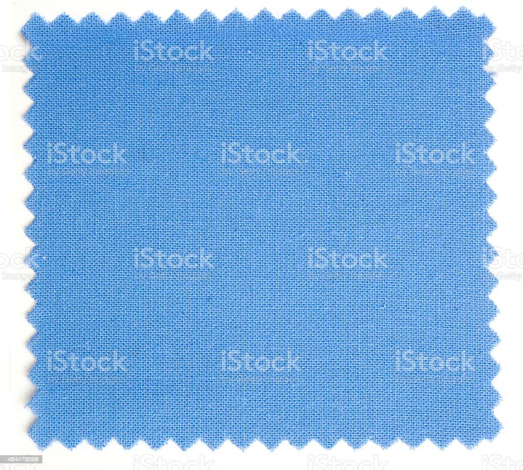 hellblaues Baumwollstoffmuster (Leinen) stock photo
