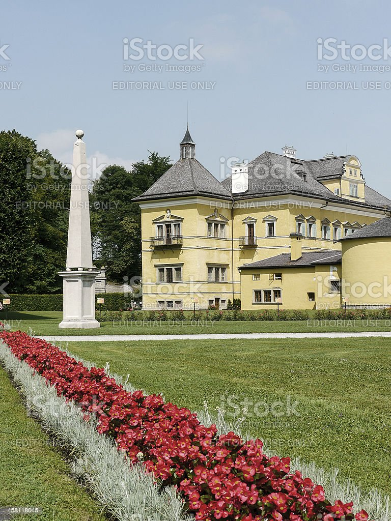 Hellbrun Palace, Austria royalty-free stock photo