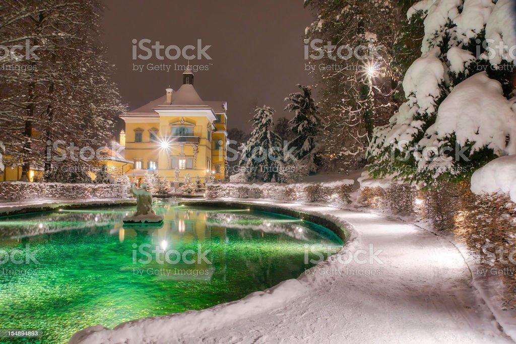 Schloss Hellbrunn im Winter – Foto
